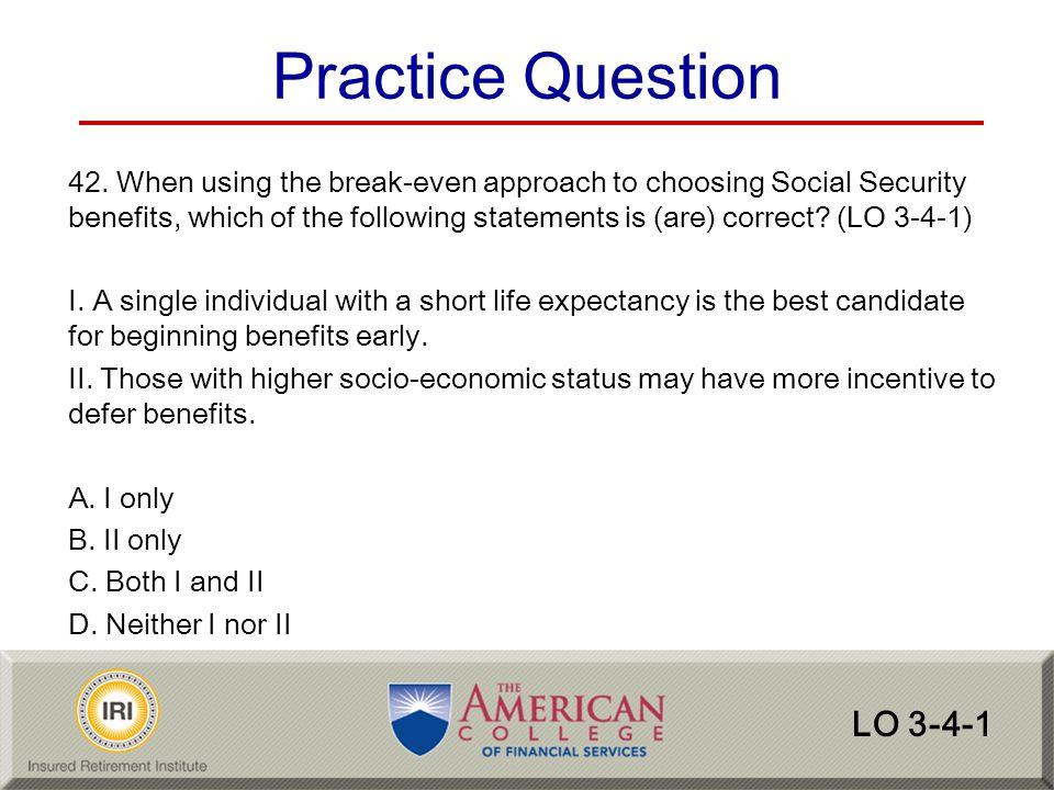 Practice Question LO 3-4-1
