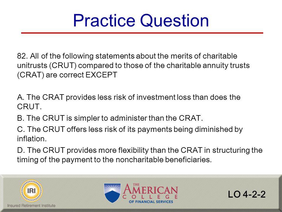 Practice Question LO 4-2-2