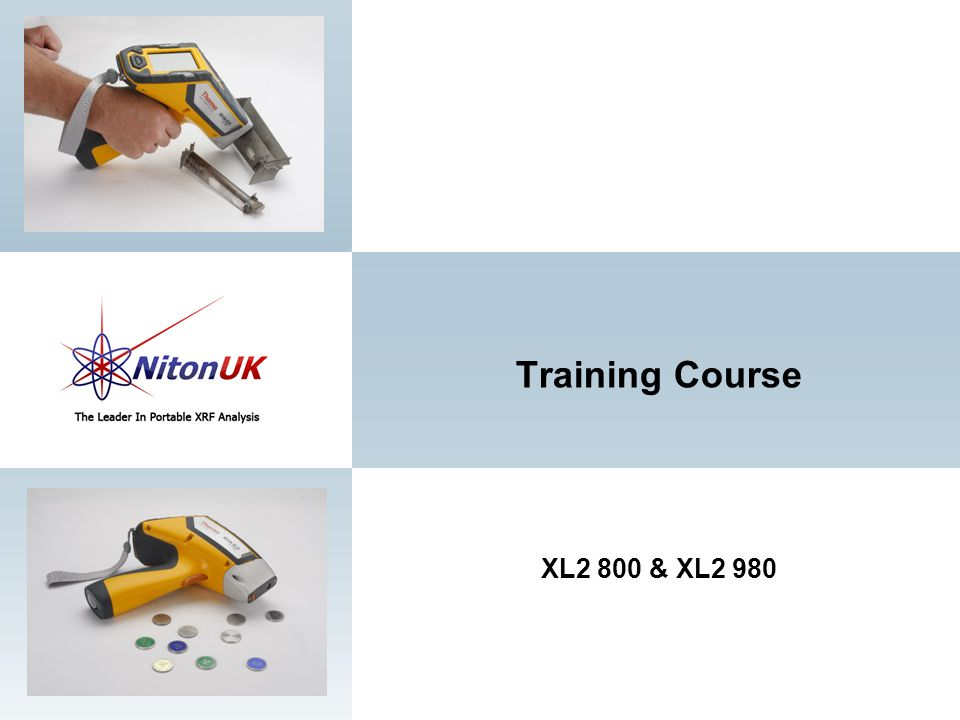 Training Course XL2 800 & XL2 980