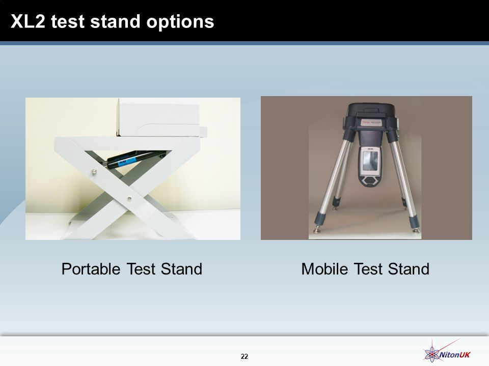 XL2 test stand options Portable Test Stand Mobile Test Stand