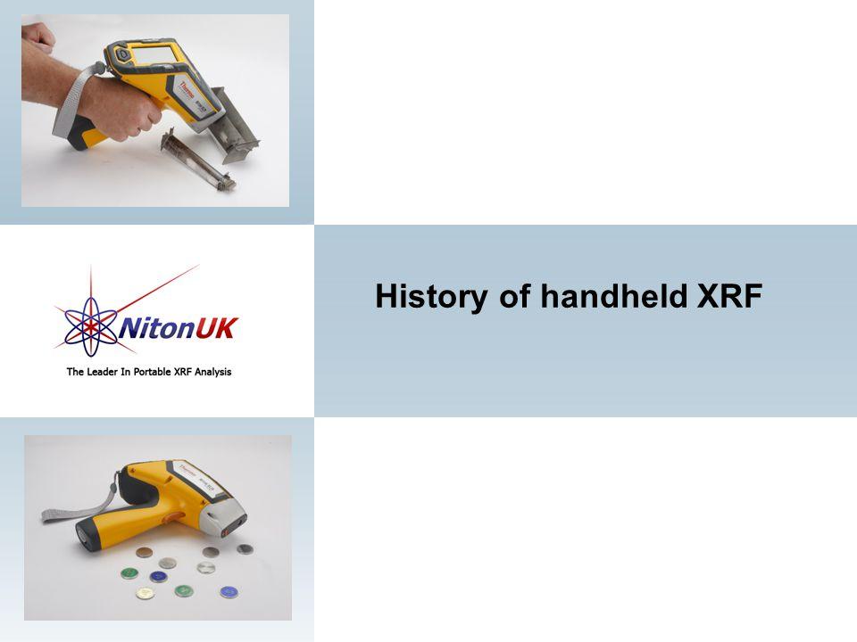 History of handheld XRF