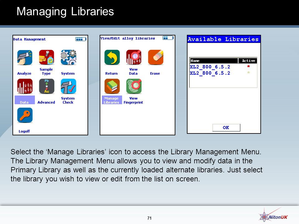 Managing Libraries