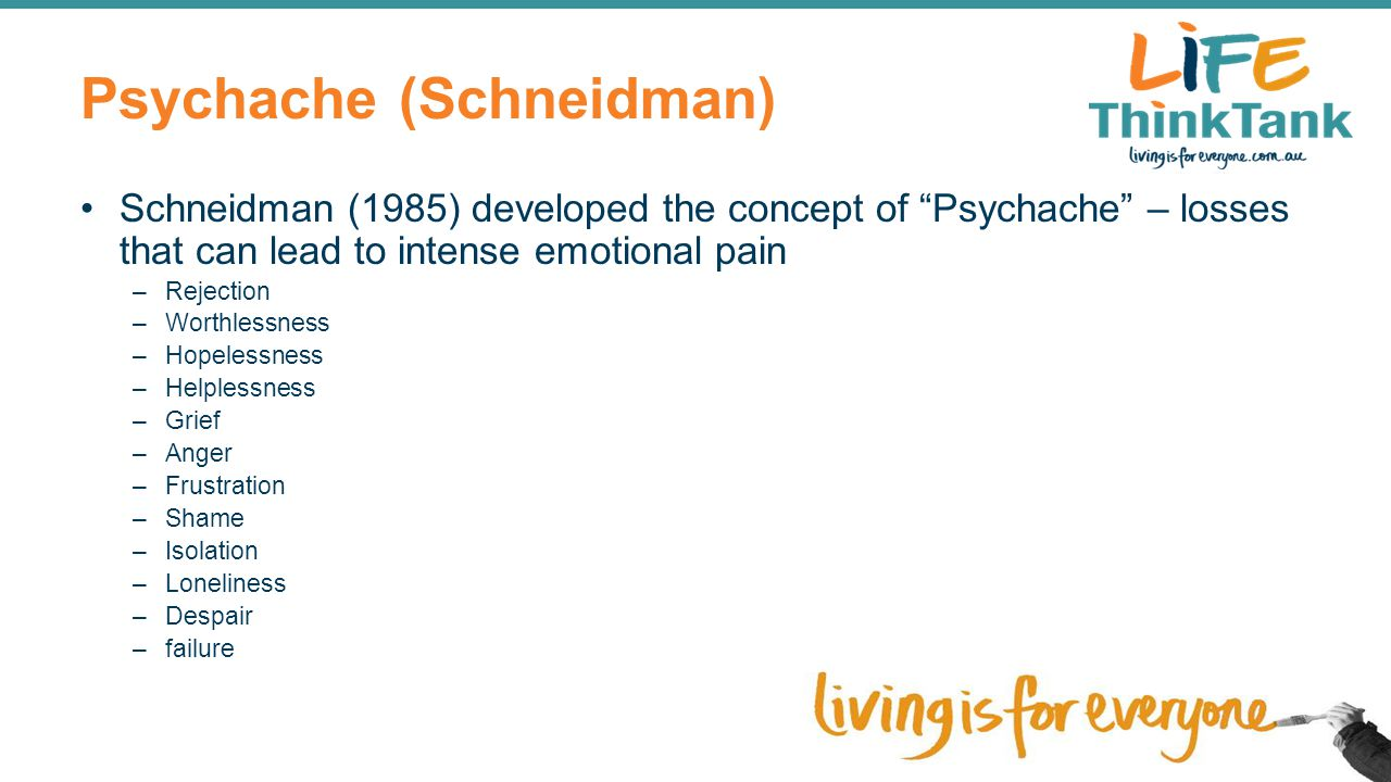 Psychache (Schneidman)