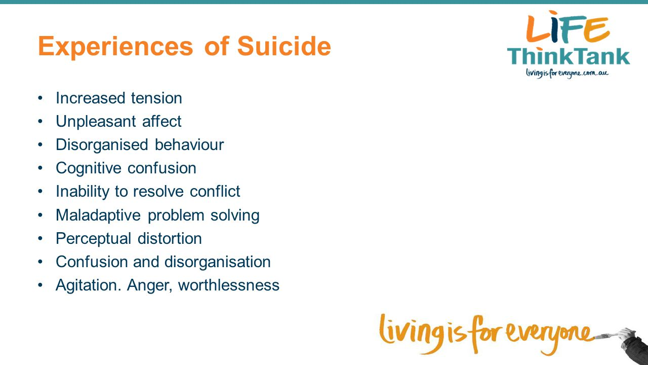 Experiences of Suicide