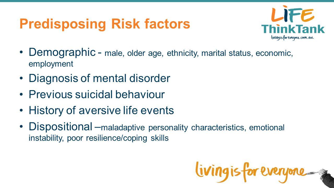 Predisposing Risk factors