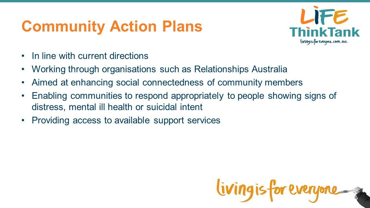 Community Action Plans