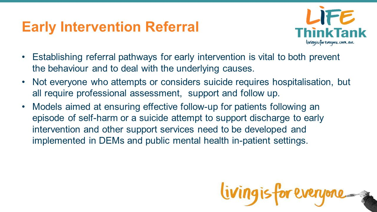Early Intervention Referral