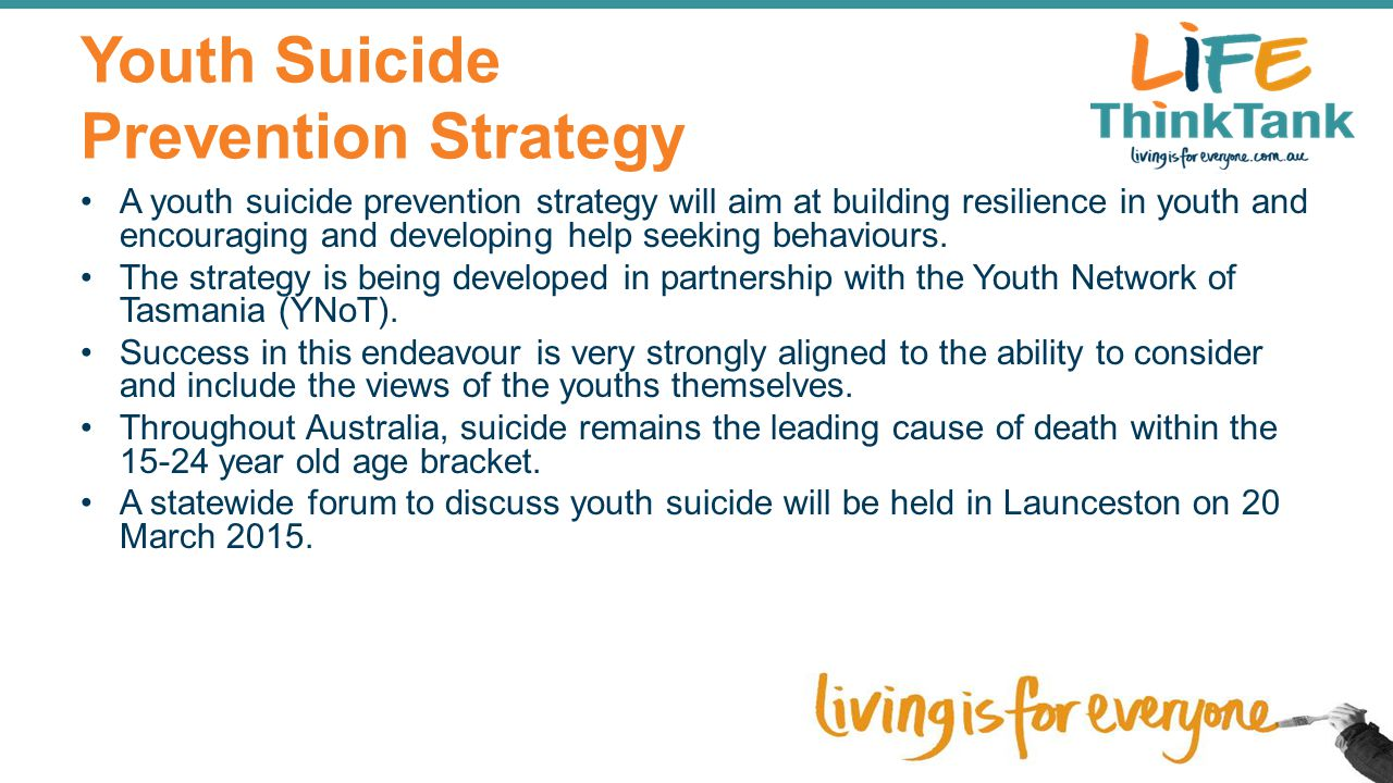 Youth Suicide Prevention Strategy