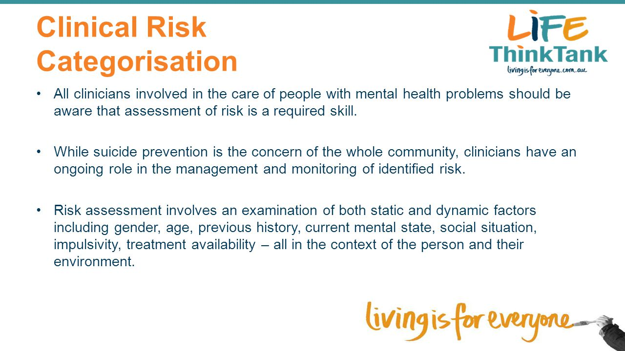 Clinical Risk Categorisation