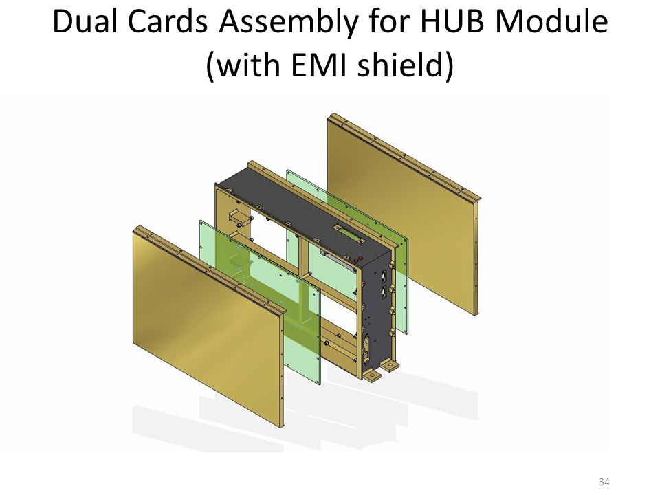 Dual Cards Assembly for HUB Module