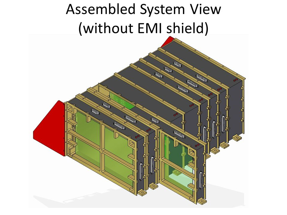 Assembled System View (without EMI shield)