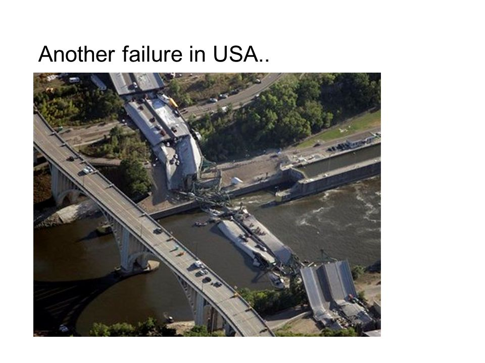 Another failure in USA..