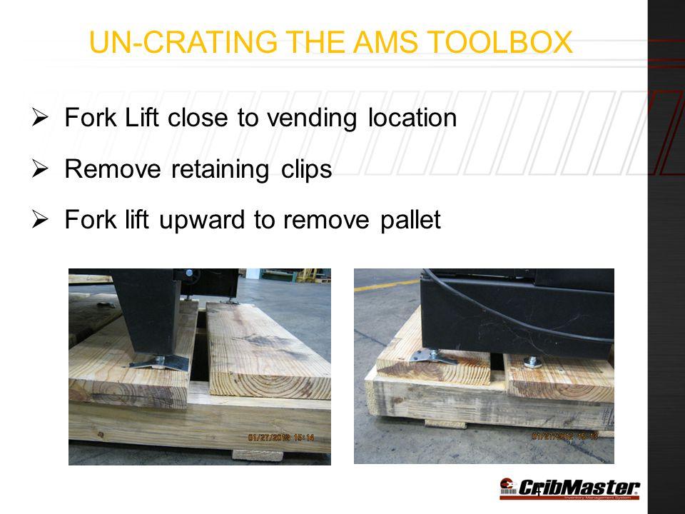 Un-Crating the AMS Toolbox