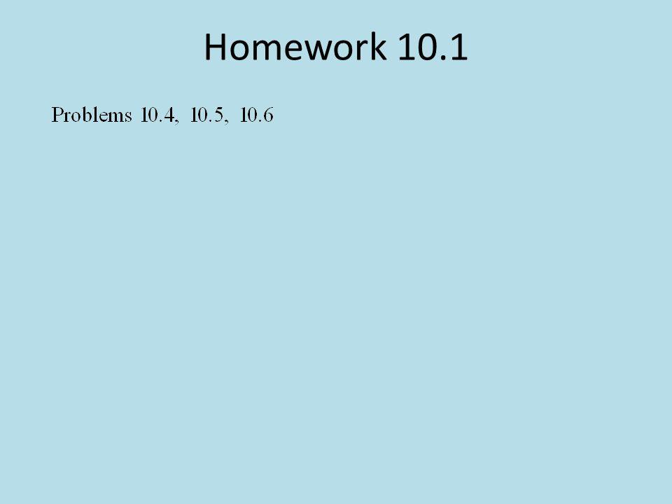 Homework 10.1