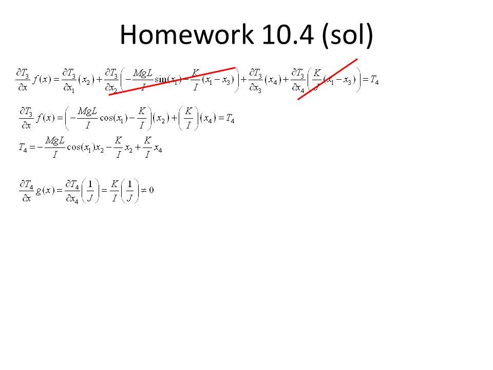 Homework 10.4 (sol)
