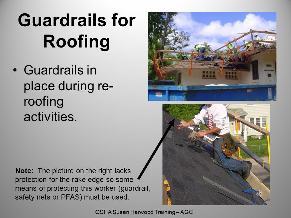 Guardrails for Roofing