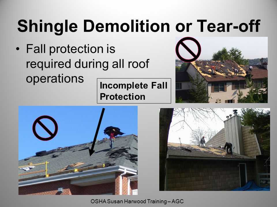 Better Wrong Fall Protection Susan Harwood Grant Training
