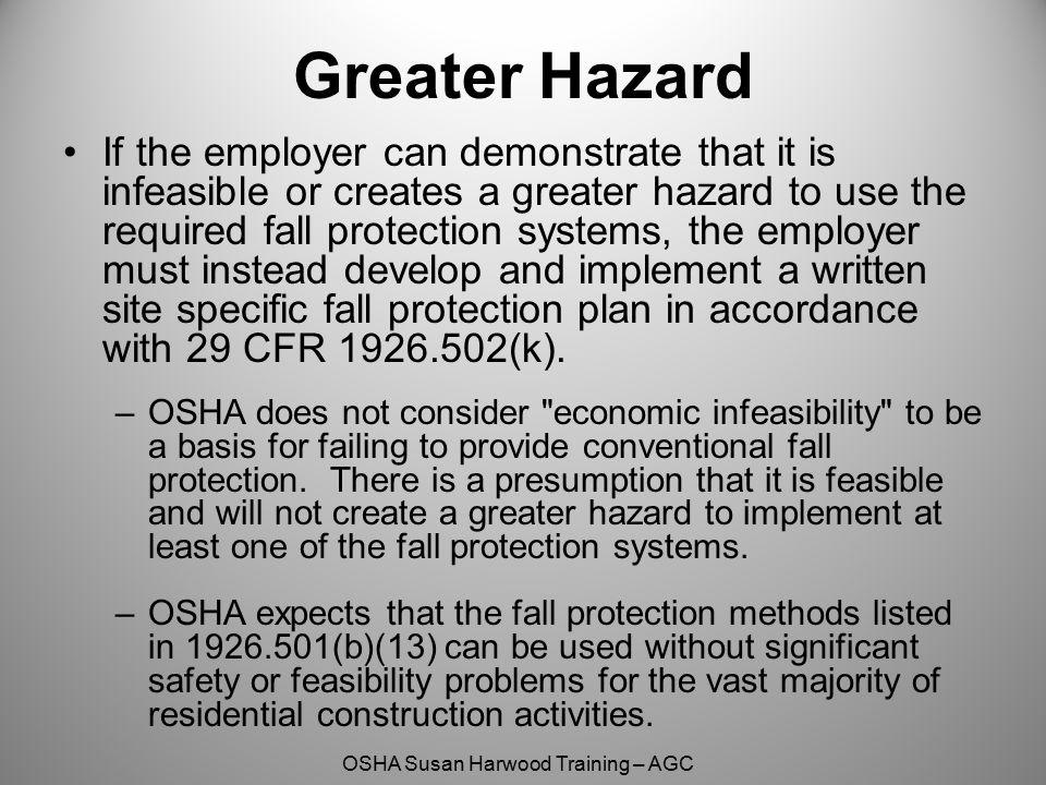 Greater Hazard