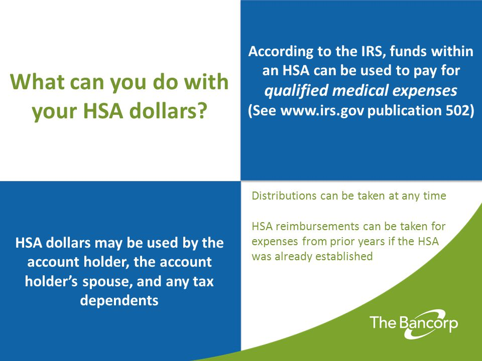 What can you do with your HSA dollars