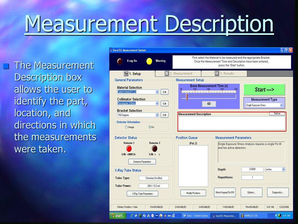 Measurement Description