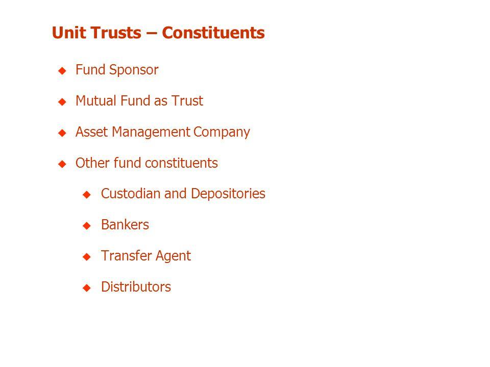 Unit Trusts – Constituents