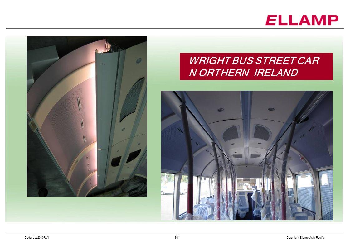 WRIGHT BUS STREET CAR N ORTHERN IRELAND