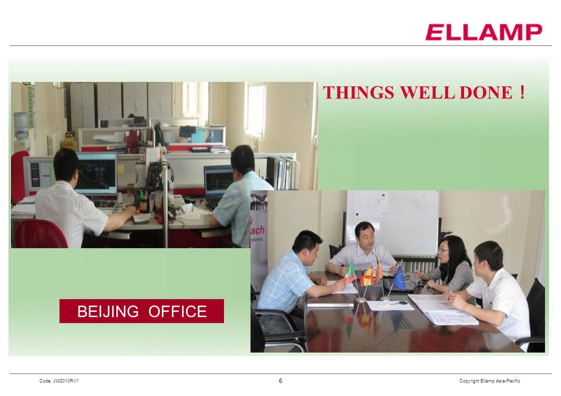 THINGS WELL DONE! BEIJING OFFICE