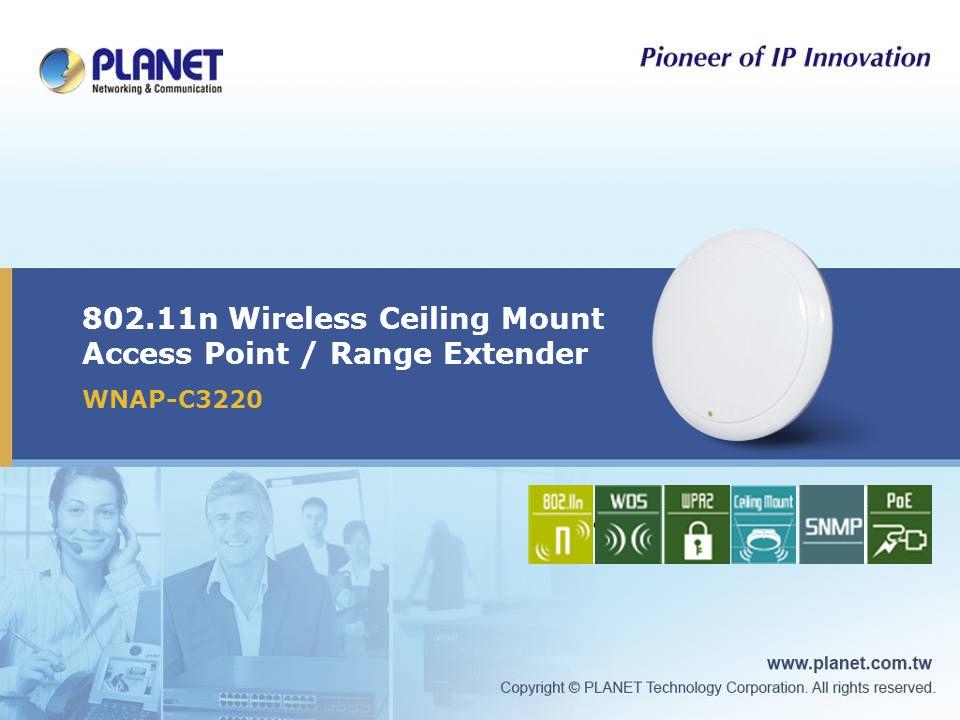 802.11n Wireless Ceiling Mount Access Point / Range Extender
