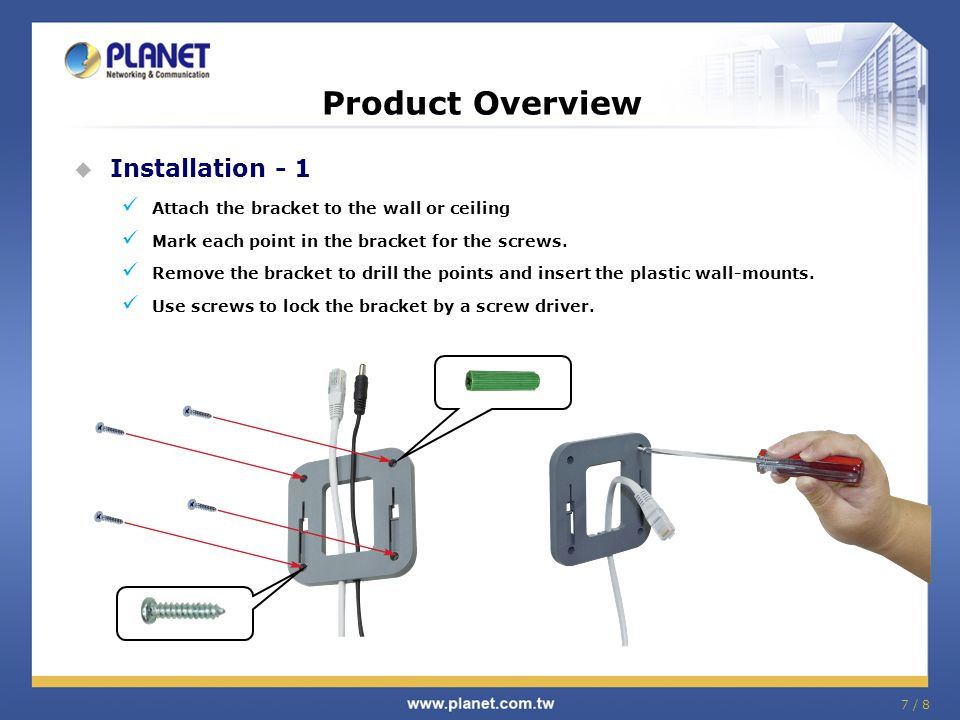 Product Overview Installation - 1