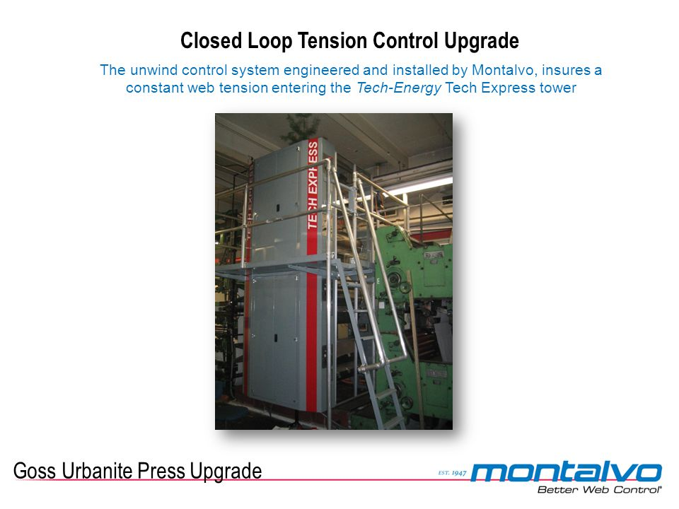 Closed Loop Tension Control Upgrade