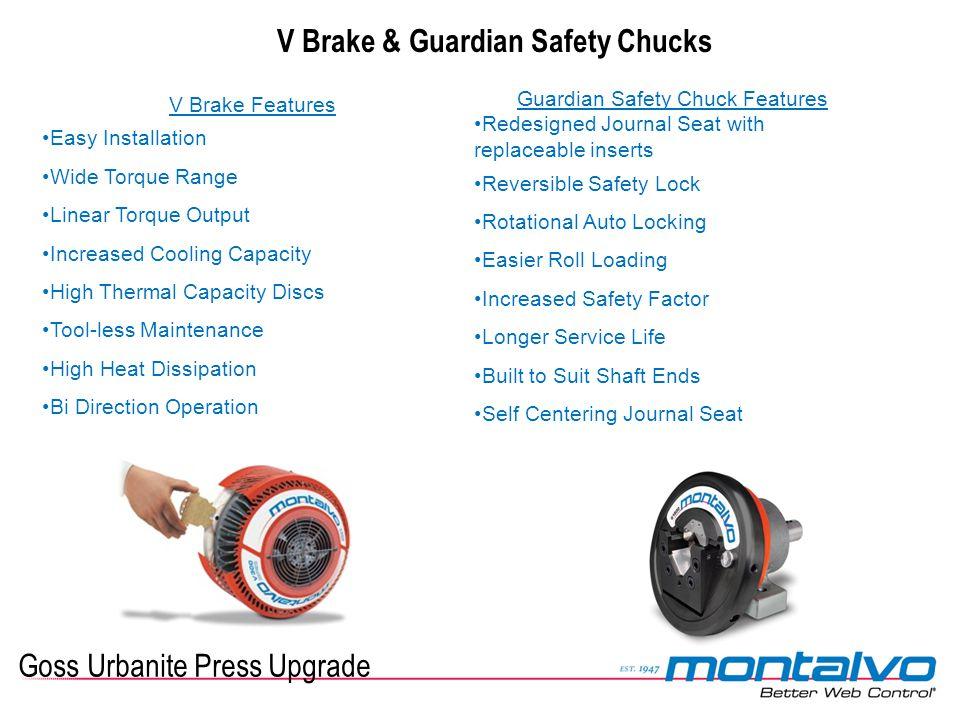 V Brake & Guardian Safety Chucks