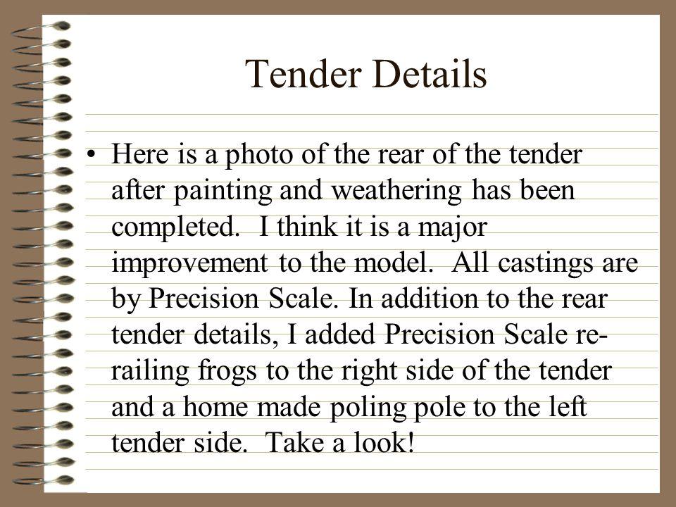Tender Details