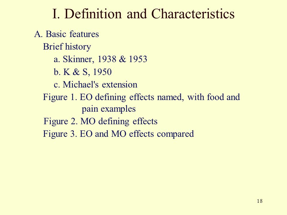 I. Definition and Characteristics