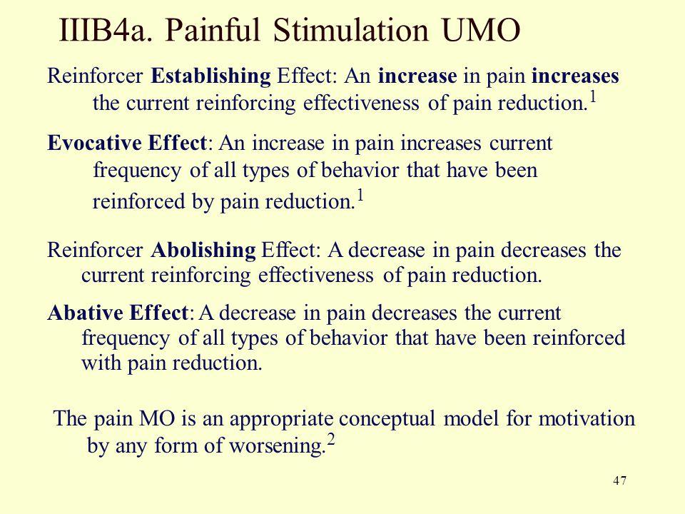 IIIB4a. Painful Stimulation UMO