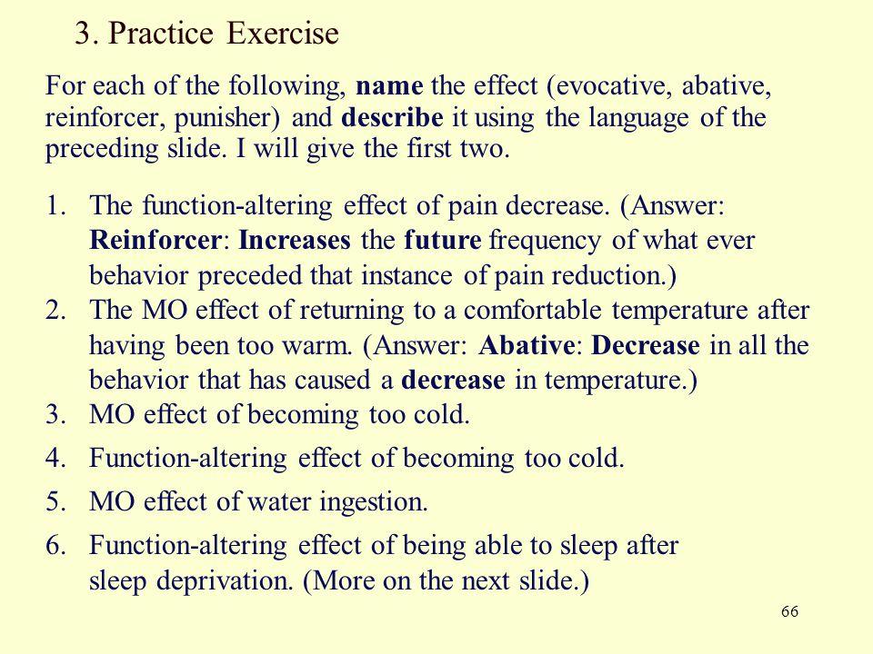 3. Practice Exercise