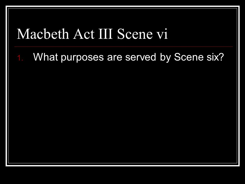 an analysis of the appearance of the ghost of banquo in act iii scene iv of the play macbeth by will Write an essay exploring the role that the supernatural plays in macbeth thus far how does it affect the play's overall atmosphere in the tragedy of macbeth, act iii, scene i macbeth's guilt causing him to see banquo's ghost d.