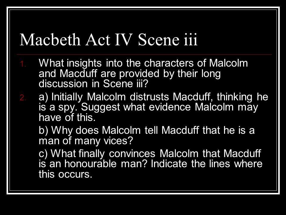 Macbeth Act IV Scene iii