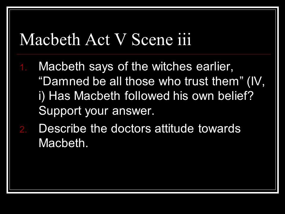 Macbeth Act V Scene iii
