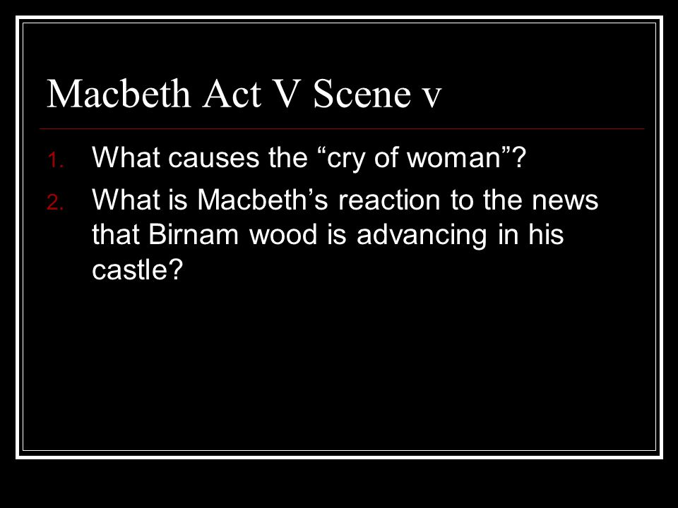 Who Is to Blame for Macbeth's Downfall?
