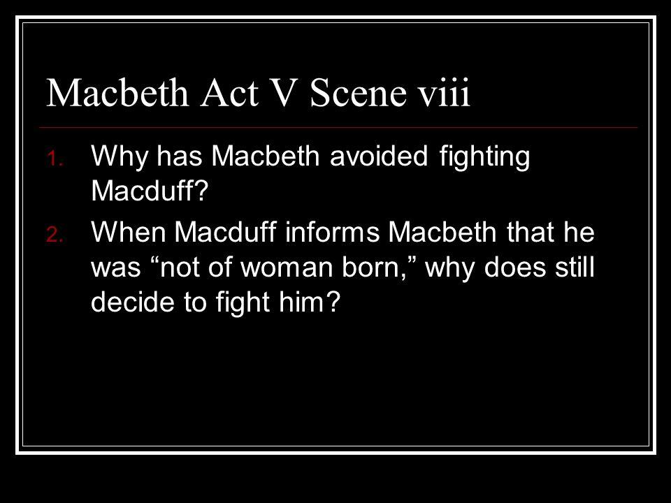 Macbeth Act V Scene viii