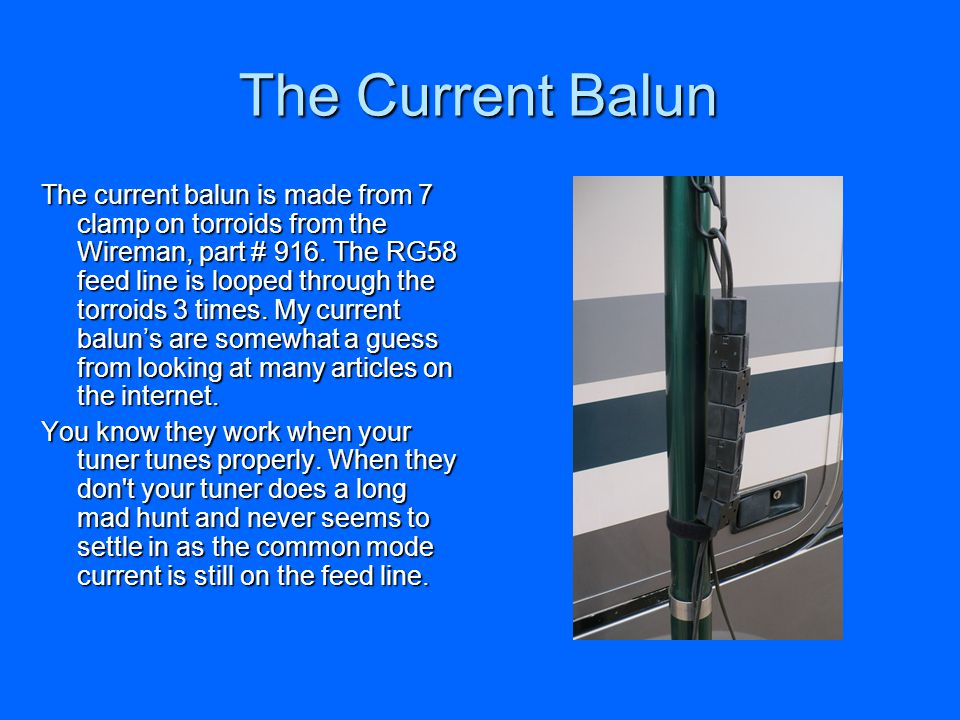 The Current Balun