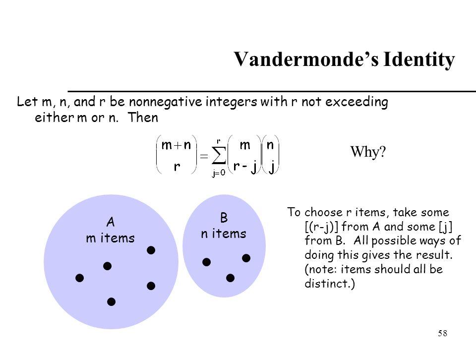 Vandermonde's Identity