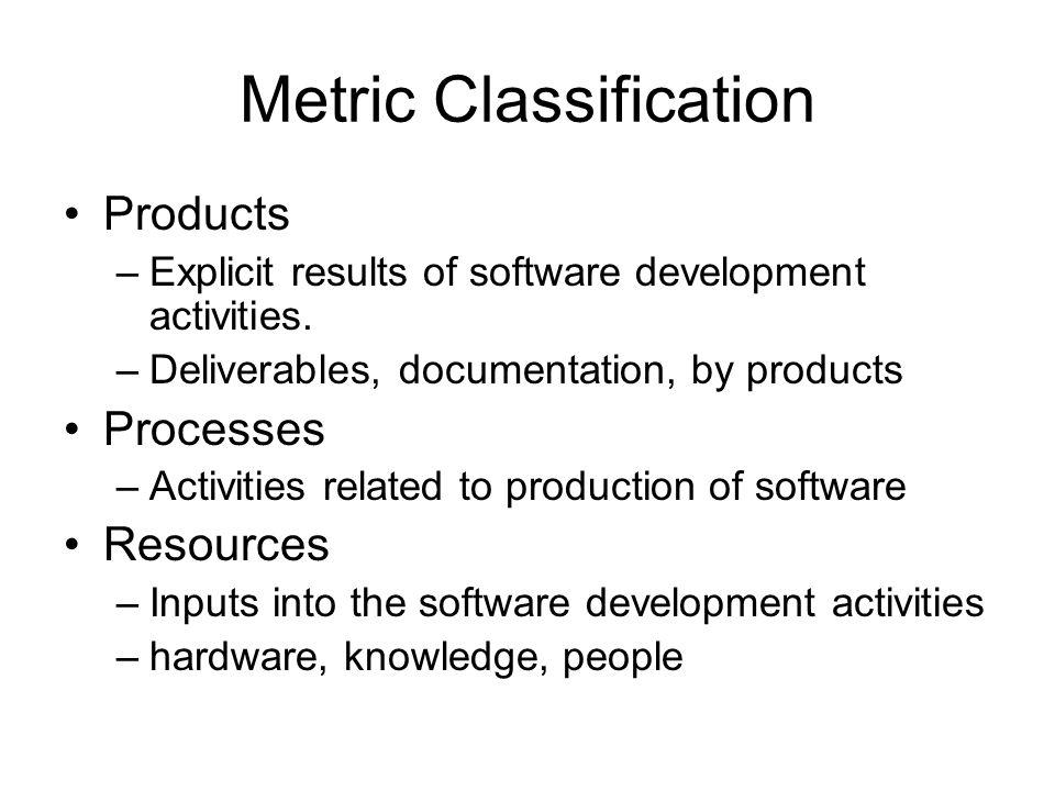 Metric Classification