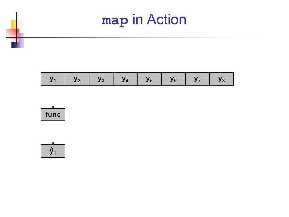 map in Action y1 y2 y3 y4 y5 y6 y7 y8 func ŷ1