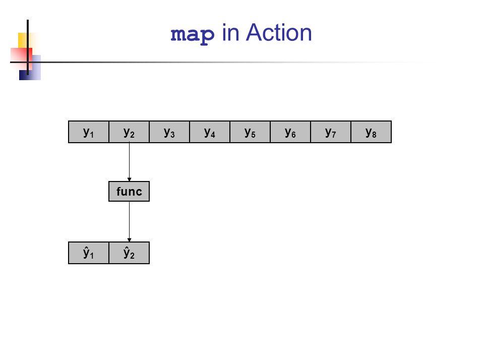map in Action y1 y2 y3 y4 y5 y6 y7 y8 func ŷ1 ŷ2