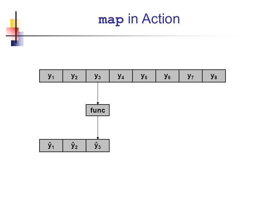 map in Action y1 y2 y3 y4 y5 y6 y7 y8 func ŷ1 ŷ2 ŷ3