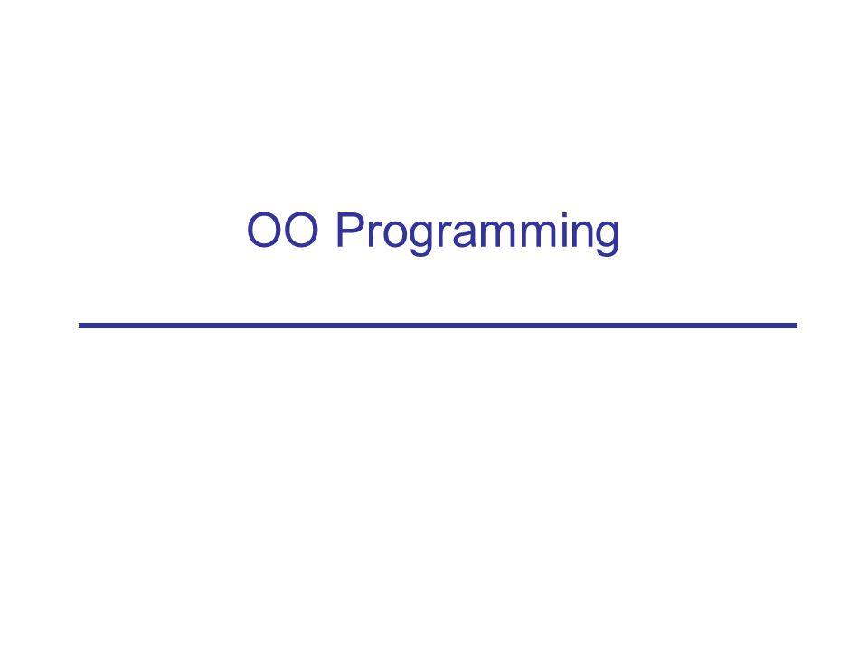 OO Programming