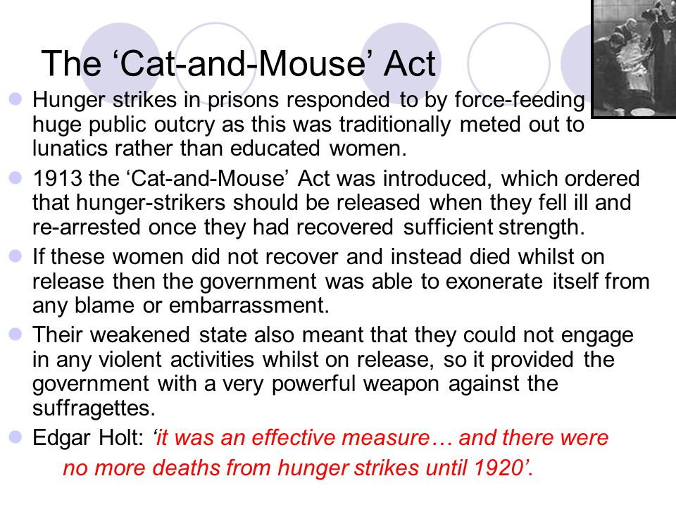 The 'Cat-and-Mouse' Act