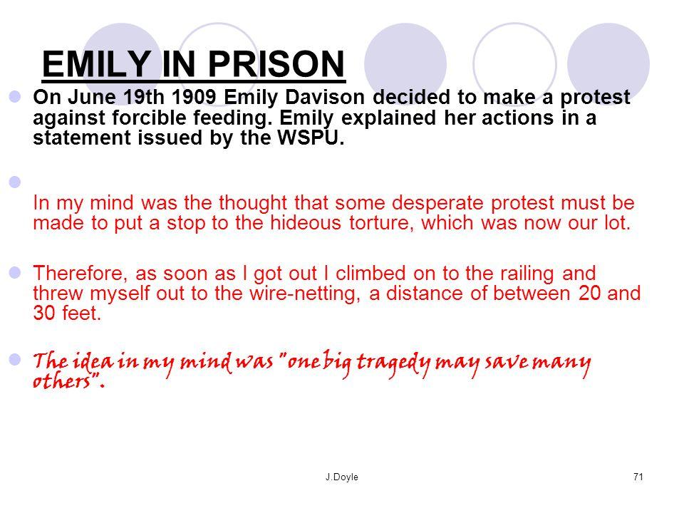 EMILY IN PRISON