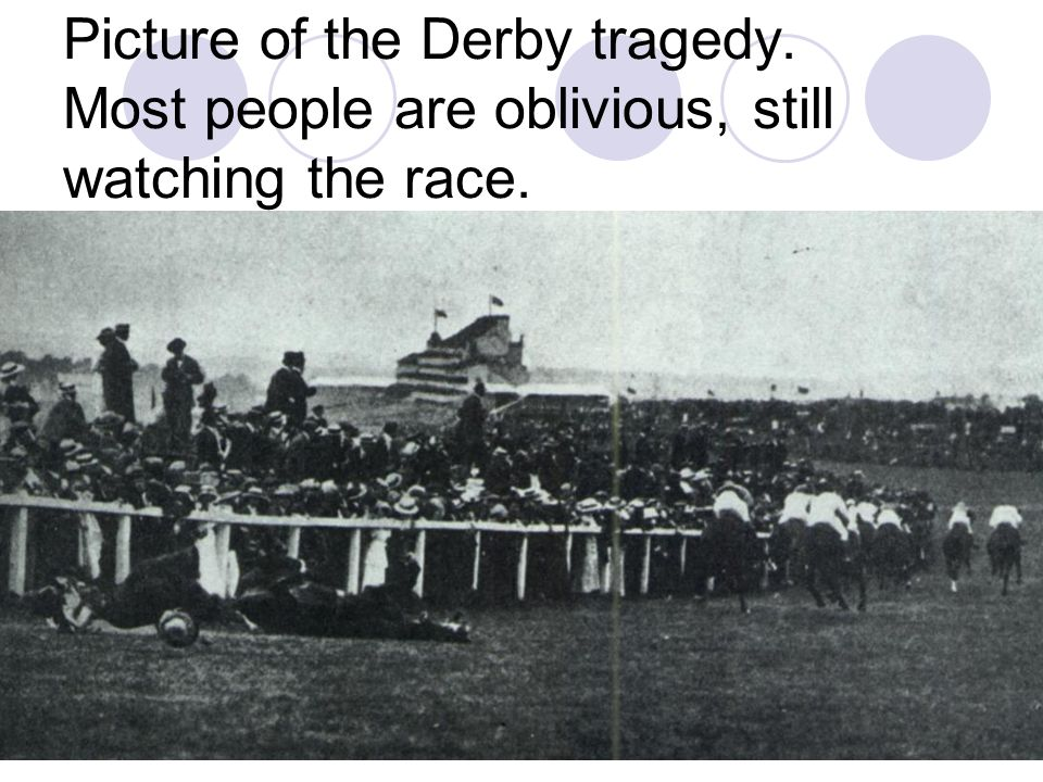 Picture of the Derby tragedy